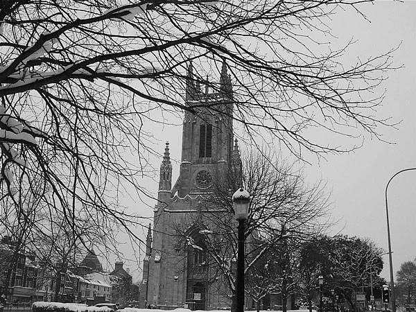 Picture of Snowy St. Peter's - December 2010