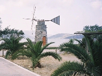 A windmill near the beach
